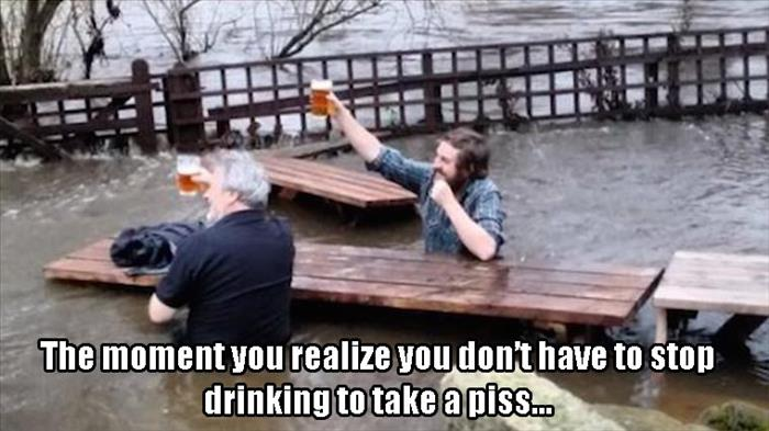 a funny beer moment