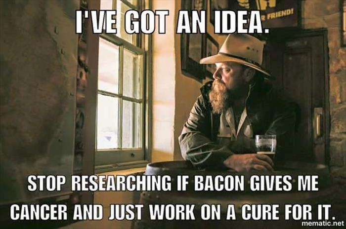 bacon causes cancer