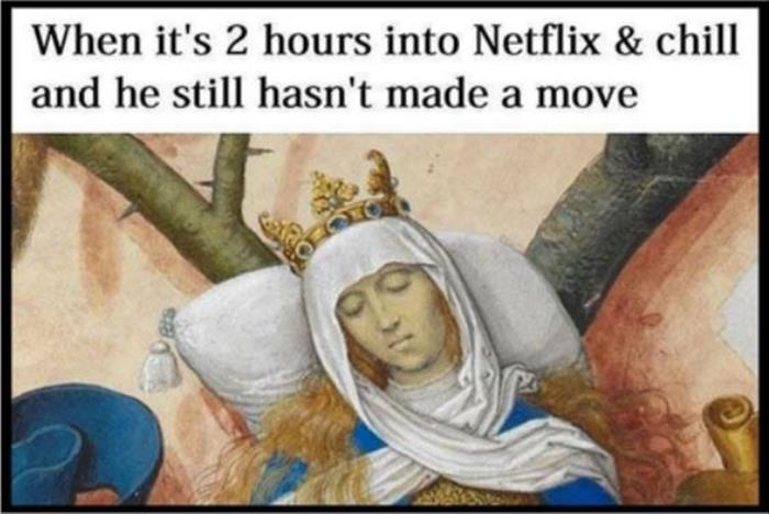 funny netflix and chill
