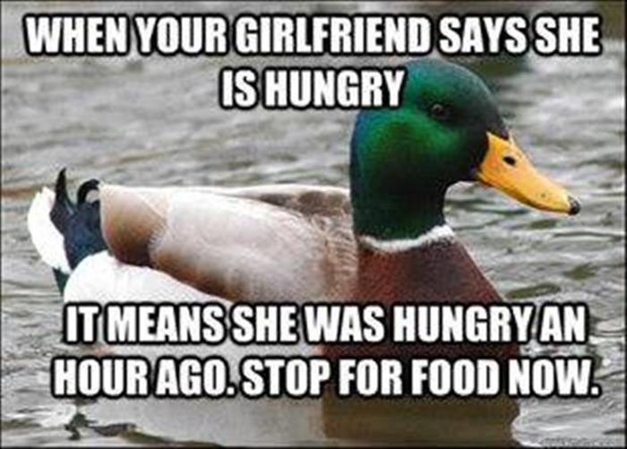 hungry girlfriend