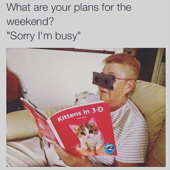sorry, I'm busy