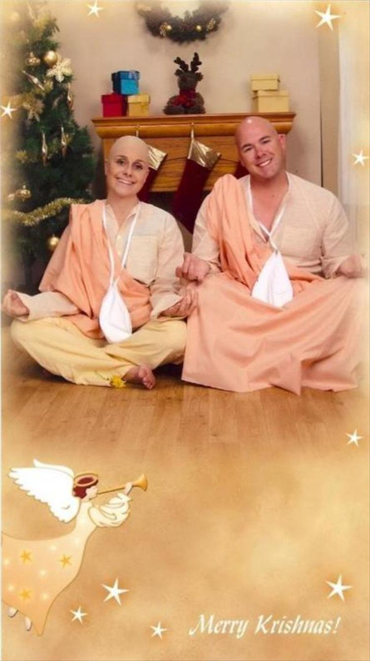 This Couple Sends Out The Best Christmas Cards! - 13 Pics