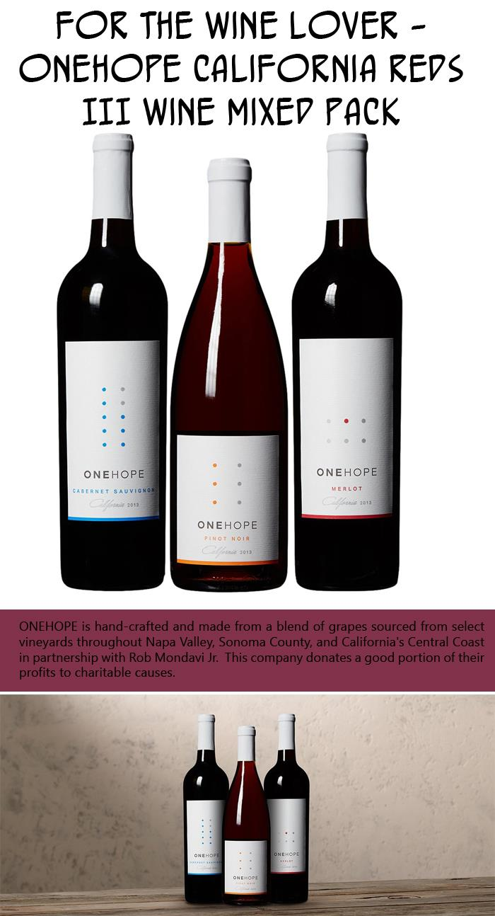 For the Wine Lover - ONEHOPE California Reds III Wine Mixed Pack