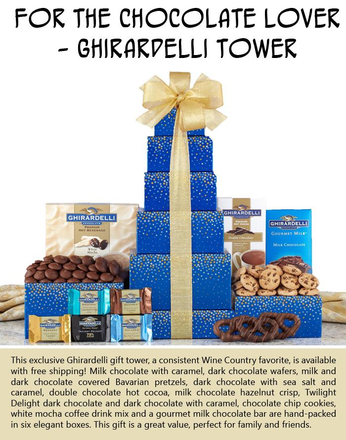 For the chocolate lover - Ghirardelli Tower