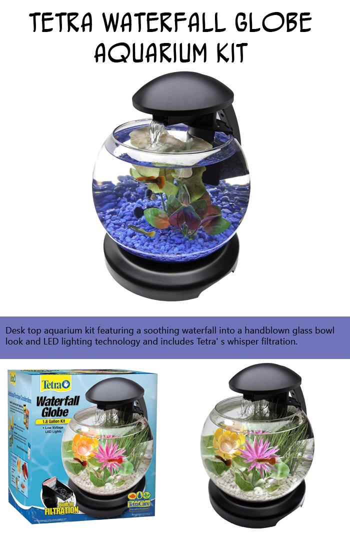 Tetra Waterfall Globe Aquarium Kit