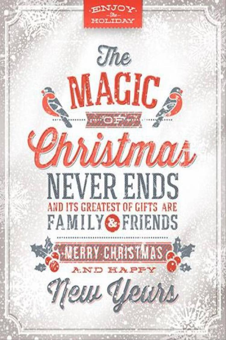 Dear friend merry christmas wish quote 2017 the best collection top ten christmas quotes kristyandbryce Choice Image