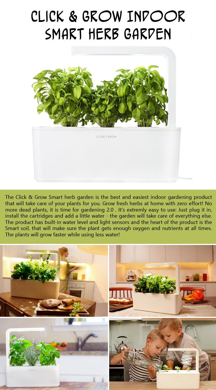 Click and Grow Indoor Smart Herb Garden