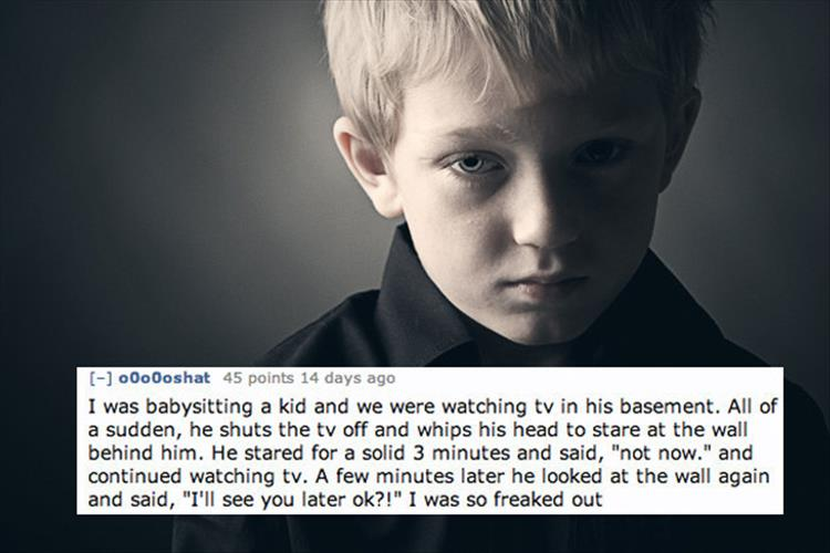 15 Of The Creepiest Things Kids Have Ever Said To Their
