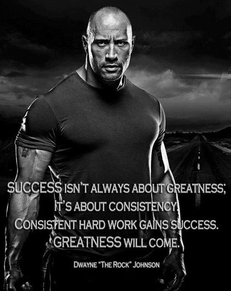 Rock) Johnson Dwayne Ten Top (The Quotes