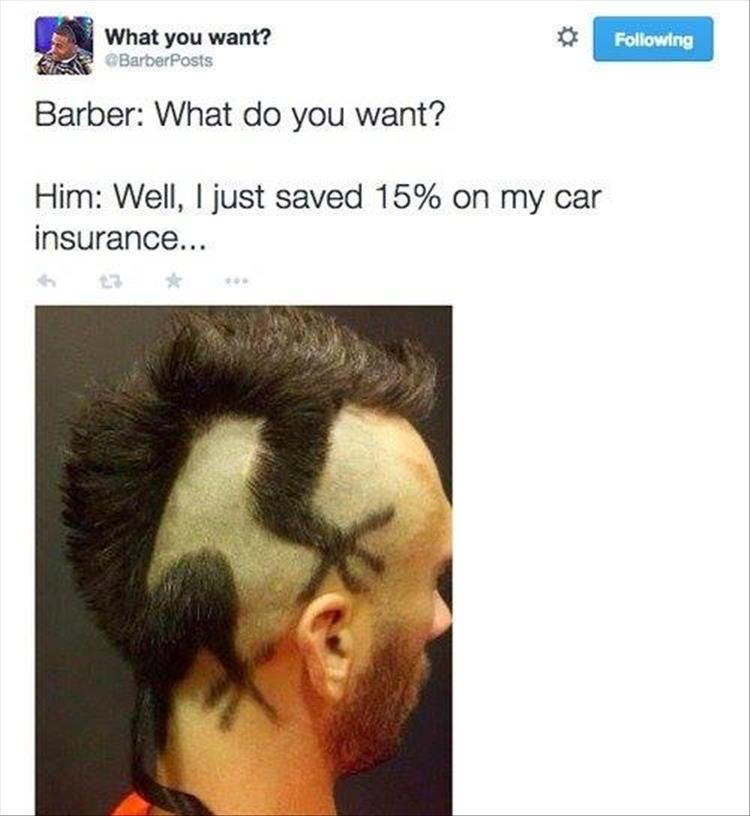 """The Best Of """"Barber: What Do You Want"""" - 34 Pics"""