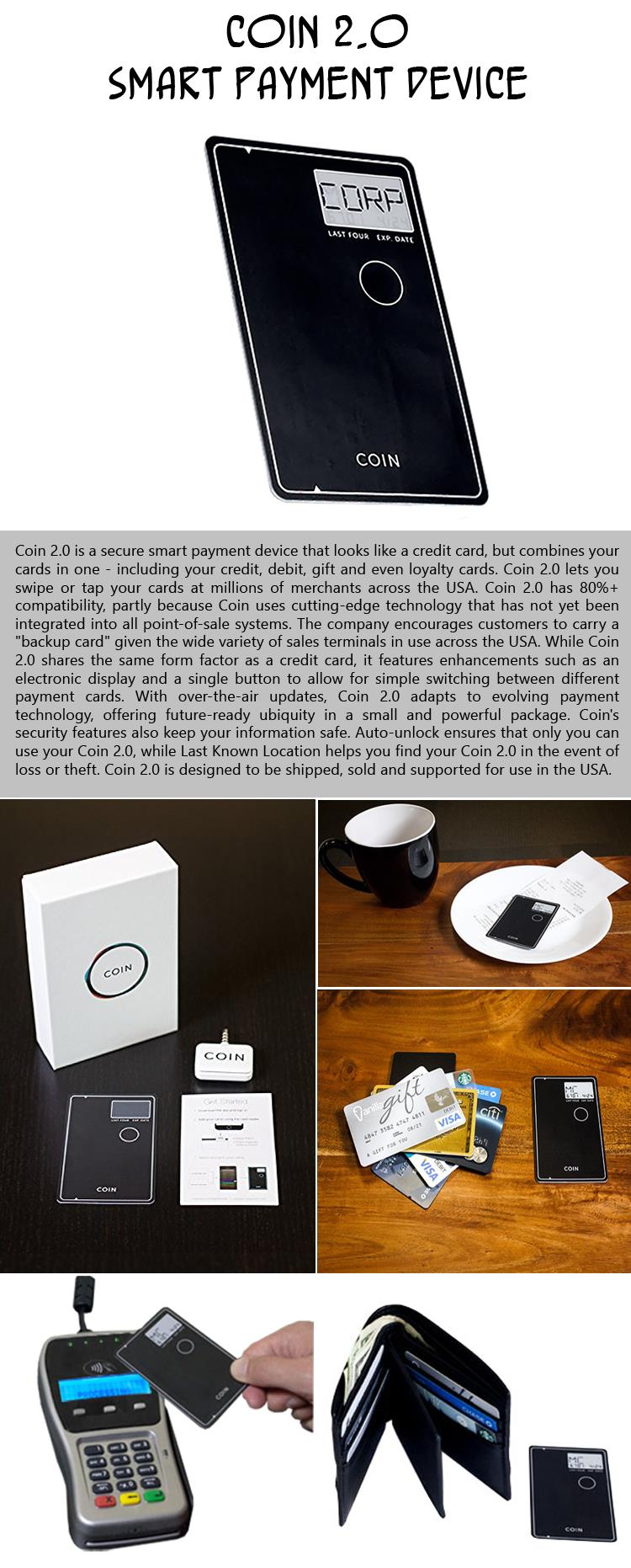 Coin Smart Payment Device