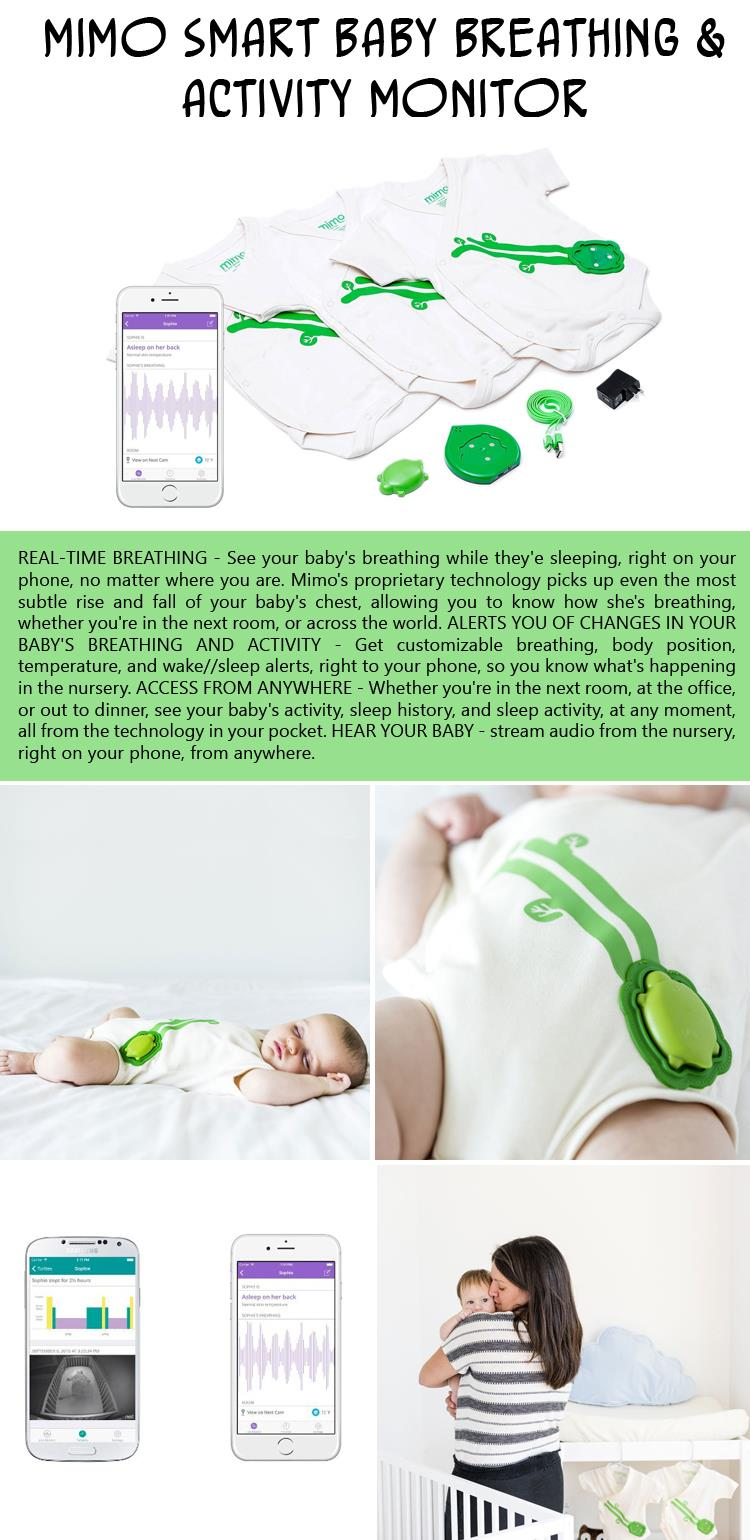 Mimo Smart Baby Breathing and Activity Monitor