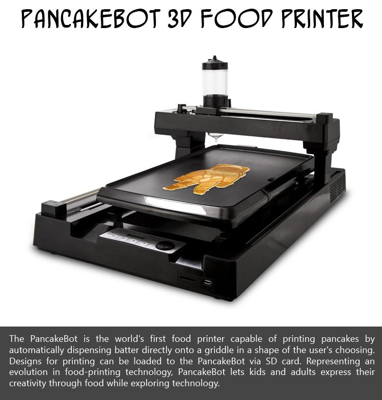 PancakeBot 3D Food Printer