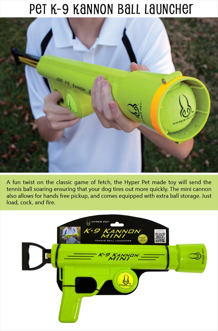 Pet K-9 Kannon Ball Launcher