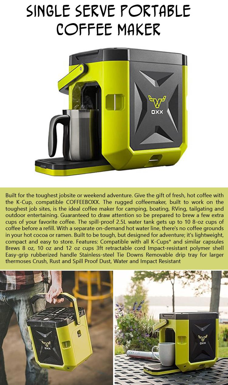 Single Serve Portable Coffee Maker