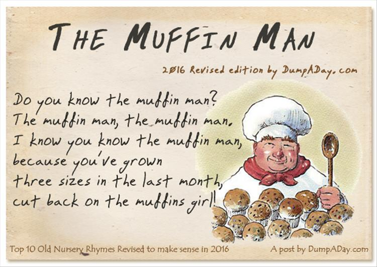 Top 10 Old Nursery Rhymes Revised The In Man