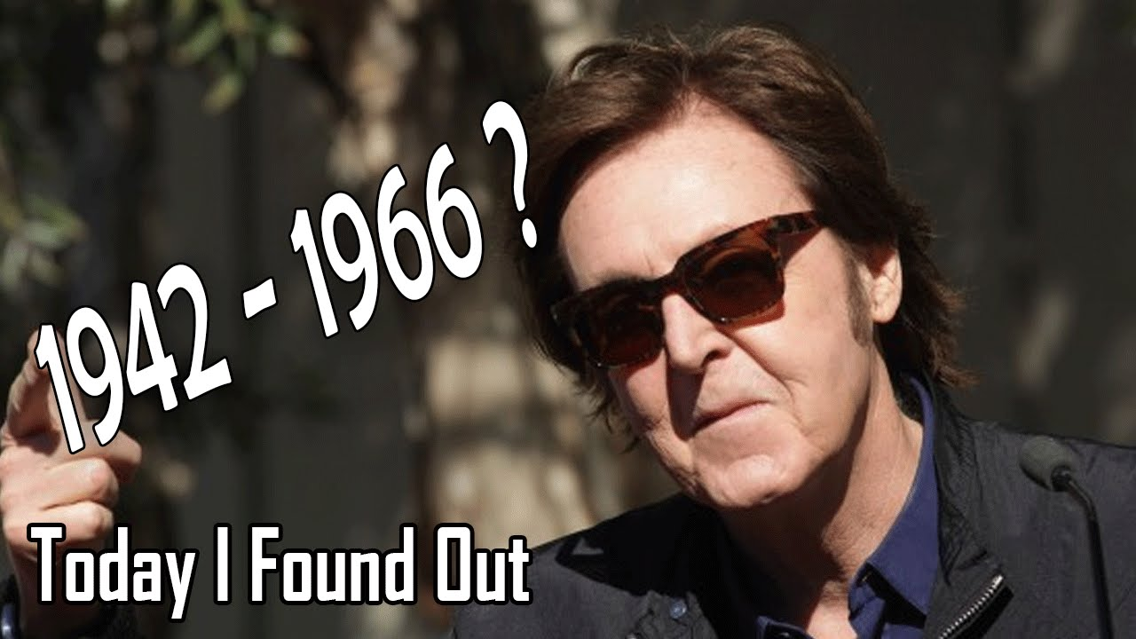 Erudition How The Rumor That Paul McCartney Died In 1966