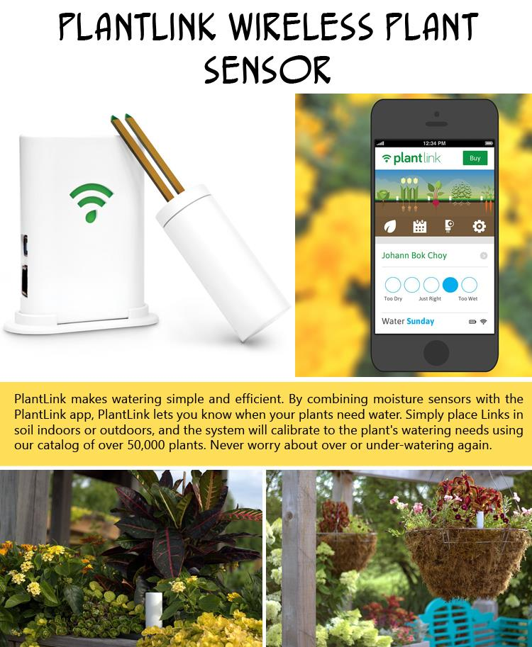 PlantLink Wireless Plant Sensor