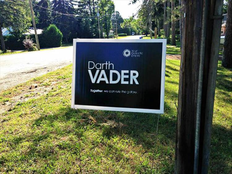 The Funniest Voting Signs You'll See - 27 Pics