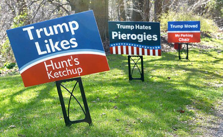 The Funniest Voting Signs You Ll See 27 Pics