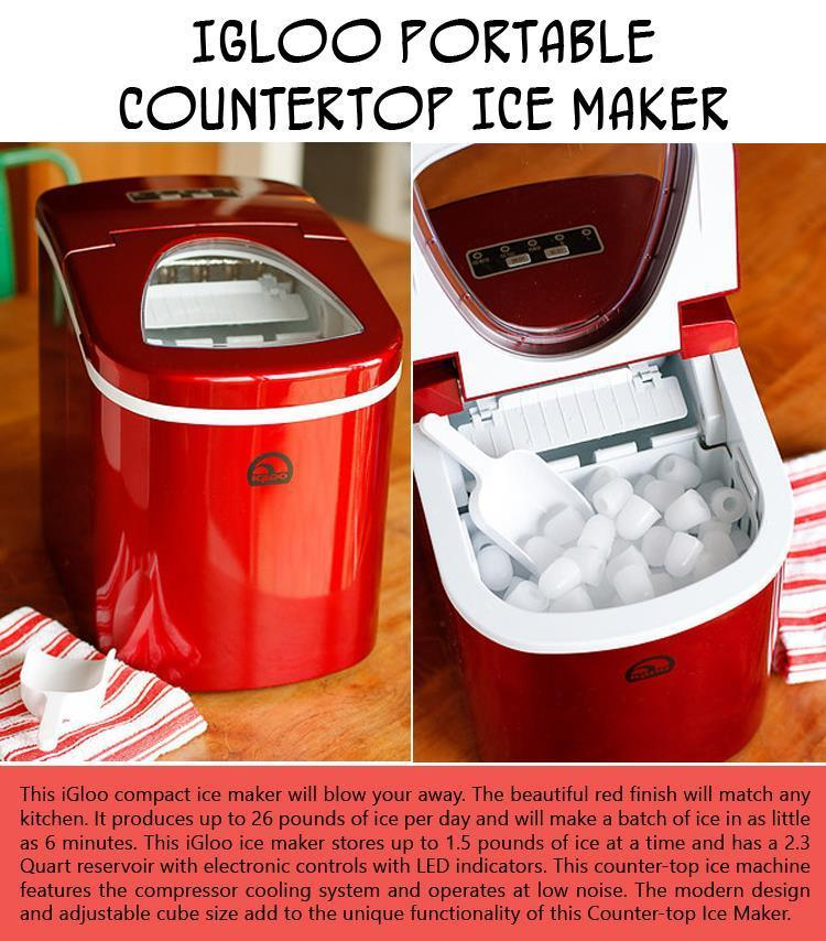 Igloo Portable Countertop Ice Maker Youtube : Ten Items You?ll Want To Add To Your Amazon Wish List