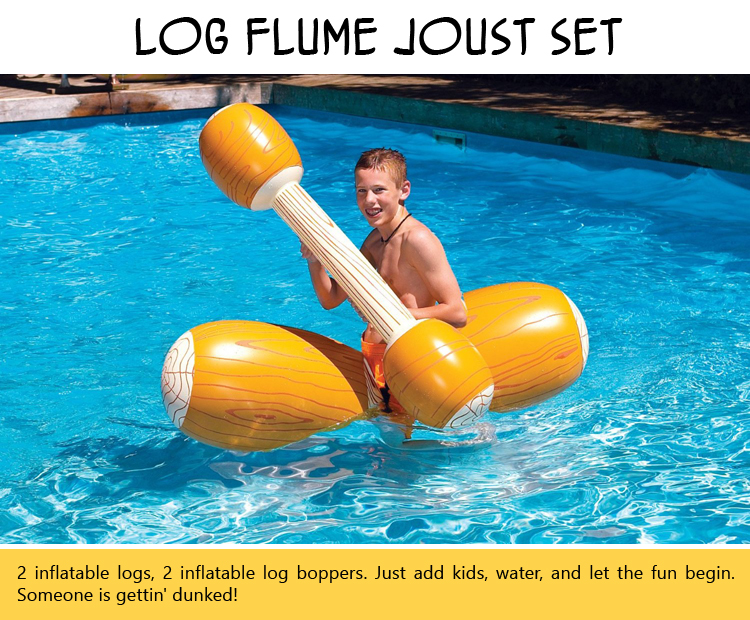 Log Flume Joust Set