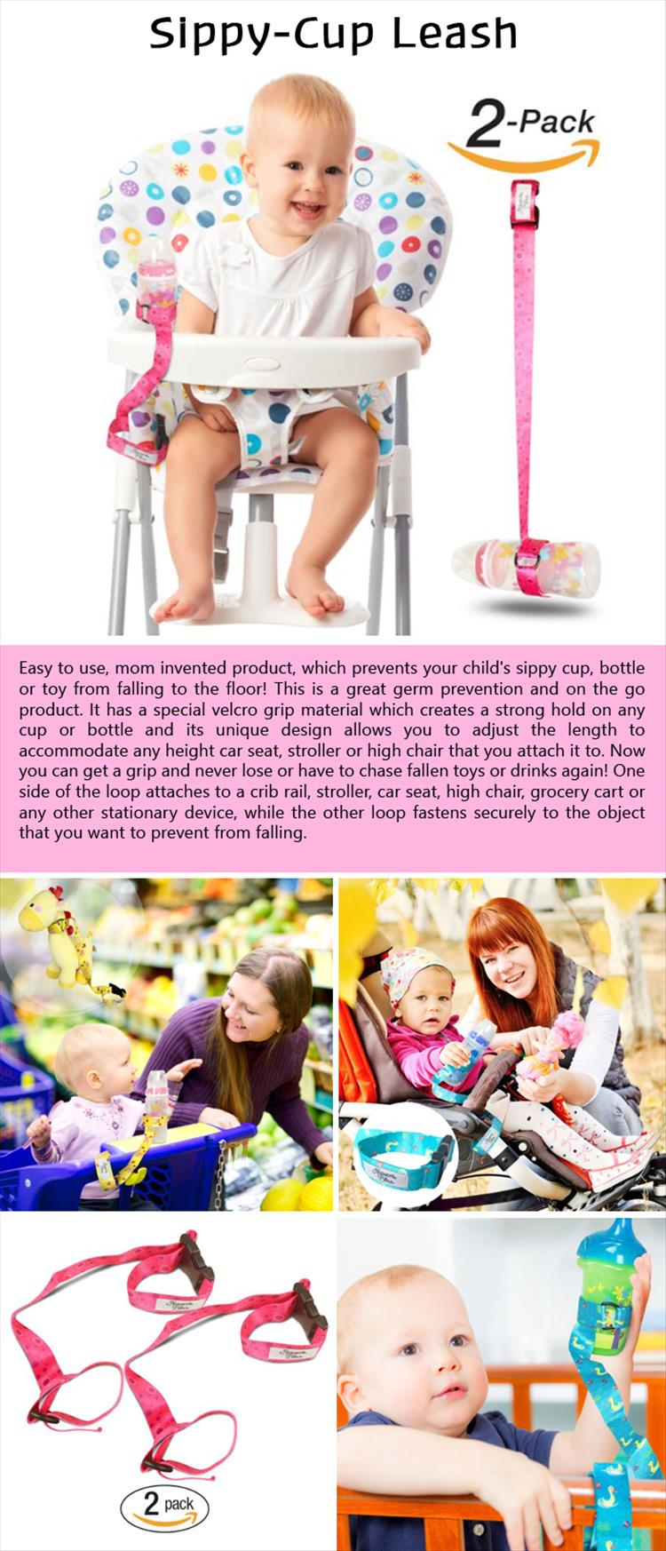 Sippy-Cup Leash