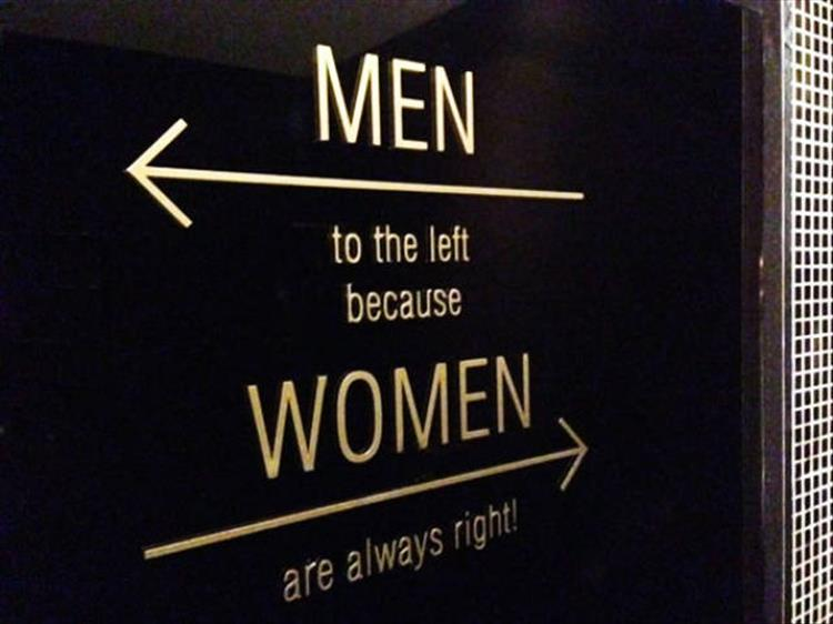 The Most Creative Bathroom Signs You'll Ever See - 22 Pics