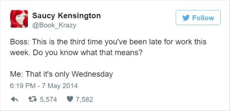 21 Funny Work Related Twitter Quotes