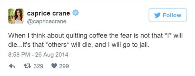 21 Funny Twitter Quotes All Coffee Lovers Can Relate To