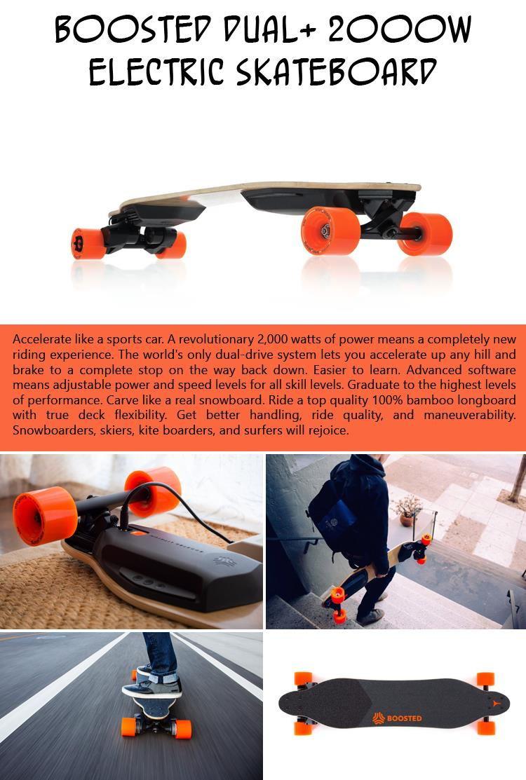 Boosted Dual 2000W Electric Skateboard