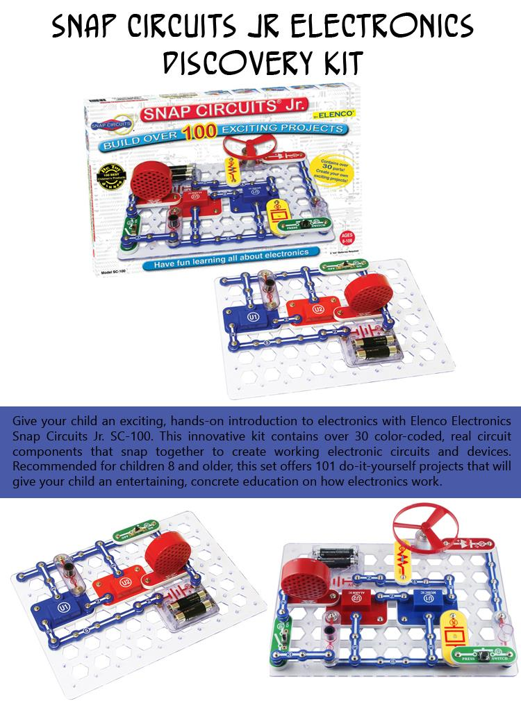 Snap Circuits Jr Electronics Discovery Kit