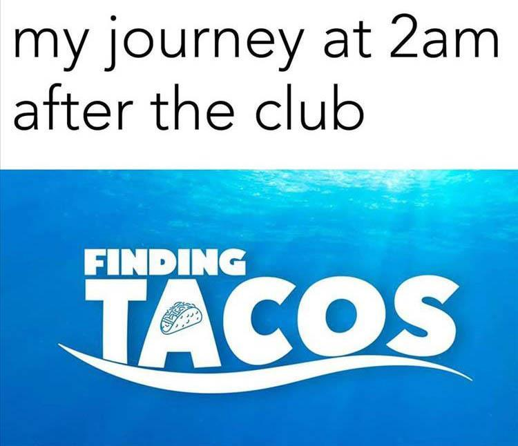 finding tacos