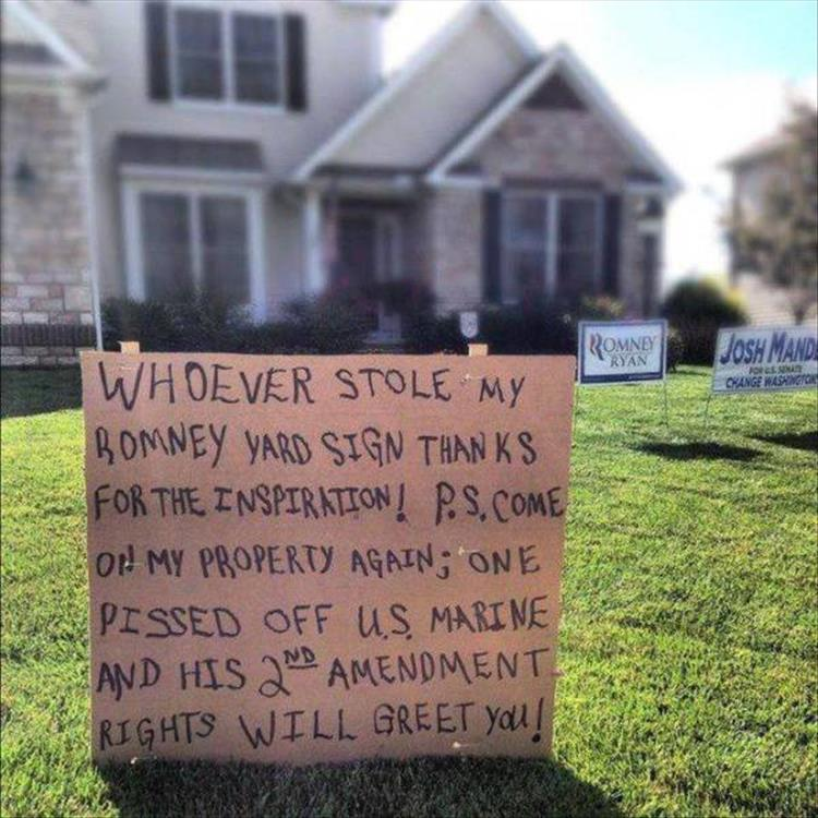 It S Funny Yard Sign Season Again 20 Pics