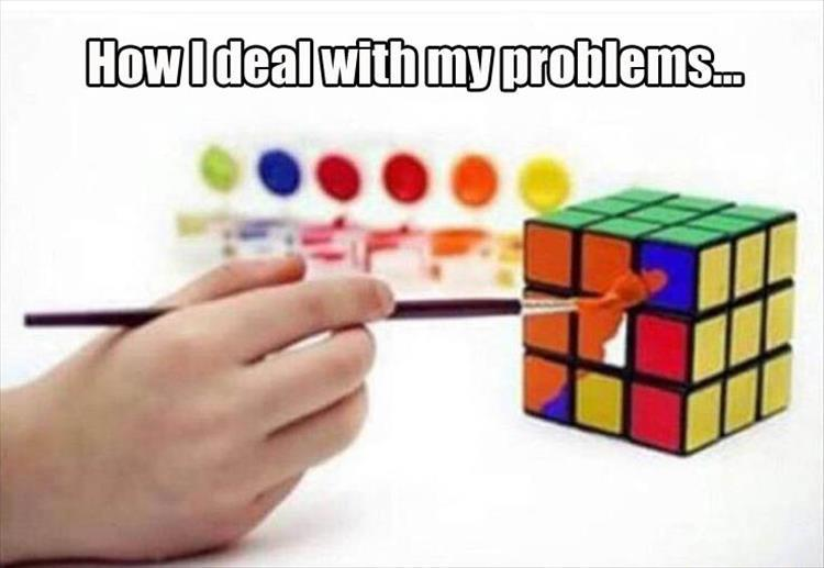 how I deal with problems