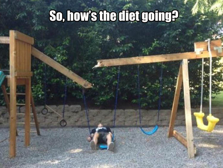 hows the diet going