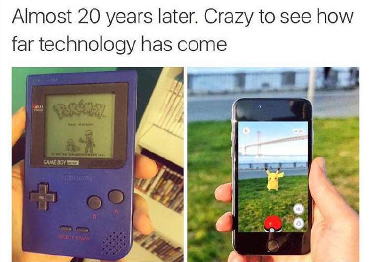 look how far technology has come