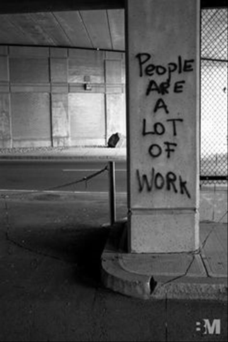 people are a lot of work