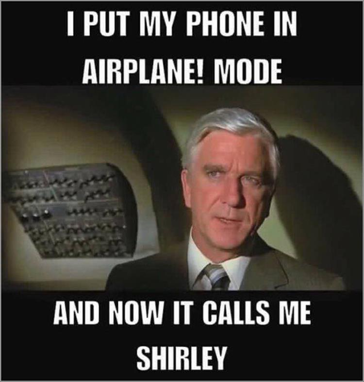 put your phone on airplane mode