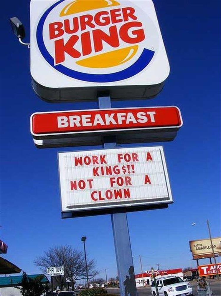 Funny Facts Fast Food