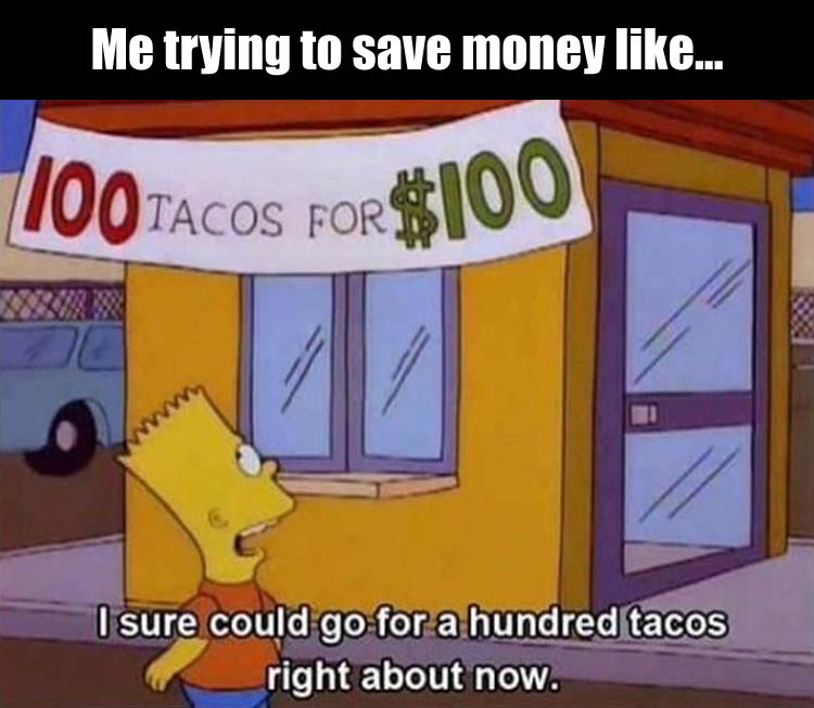 100 tacos on sale now