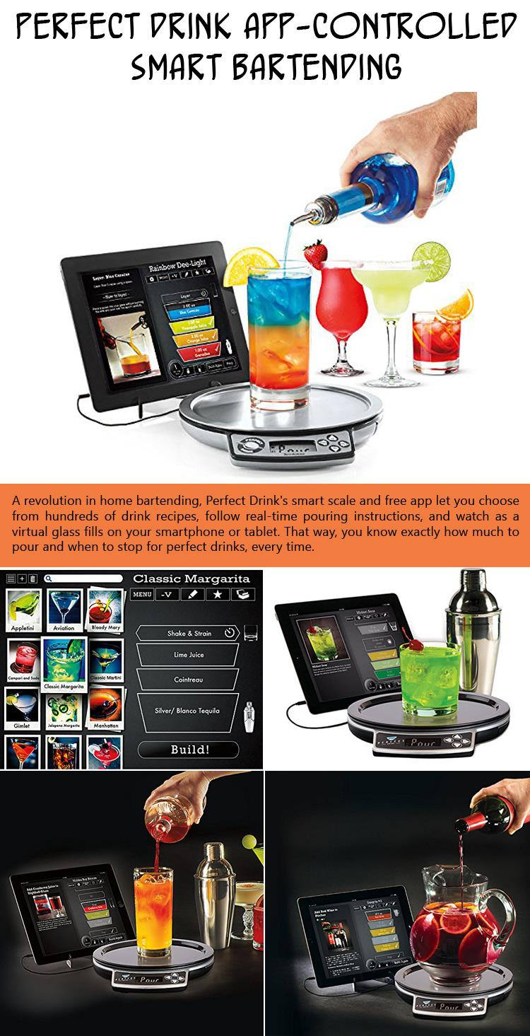 3 Perfect Drink App-Controlled Smart Bartending