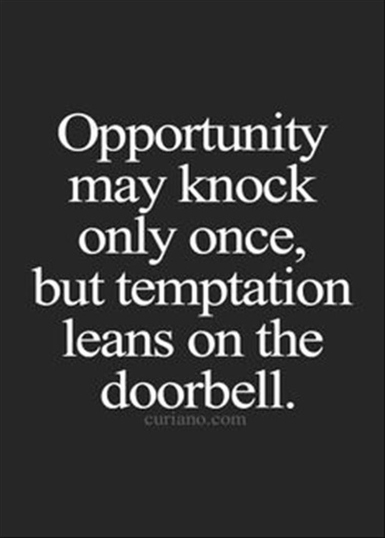 "essay on opportunity knocks the door once By dan oswald abraham lincoln once said ""when opportunity knocks "" when opportunity knocks, will you open the door share this article: print."