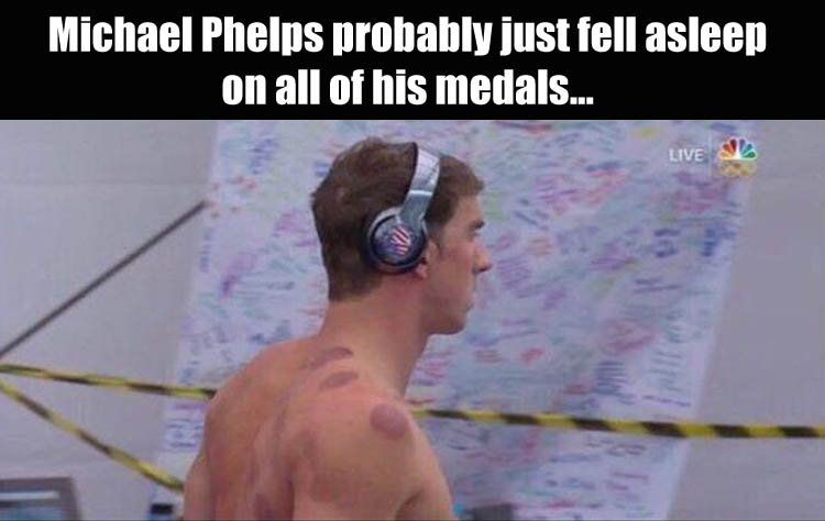 Phelp's medals