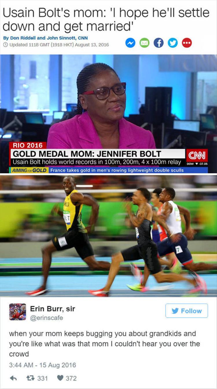 Usain Bolt's Mom interview
