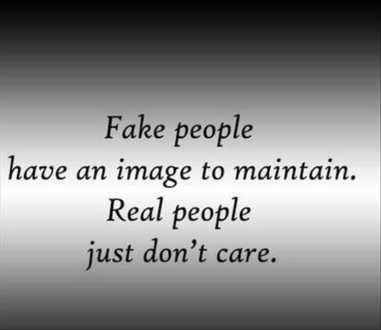 What is a fake person