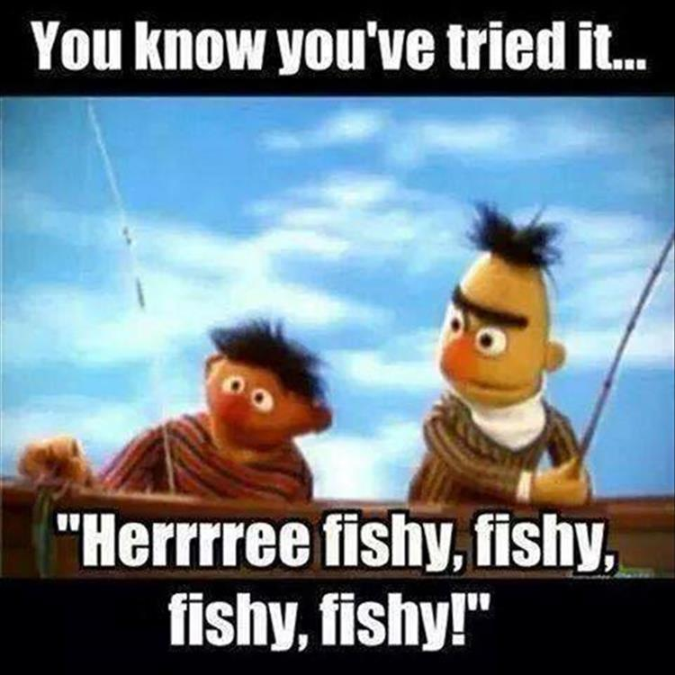 a funny way to fish