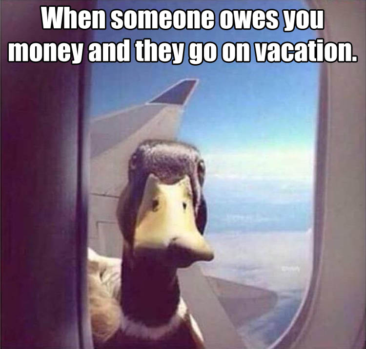 a going on vacation
