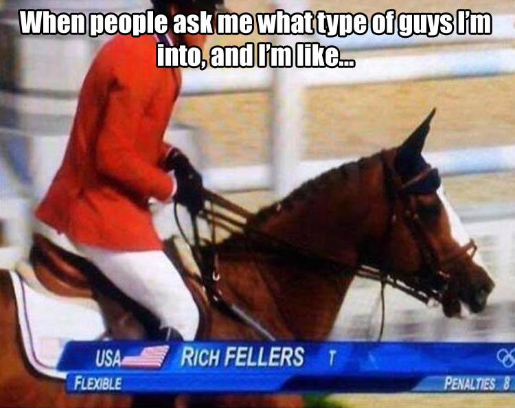 a his name is rich fellers