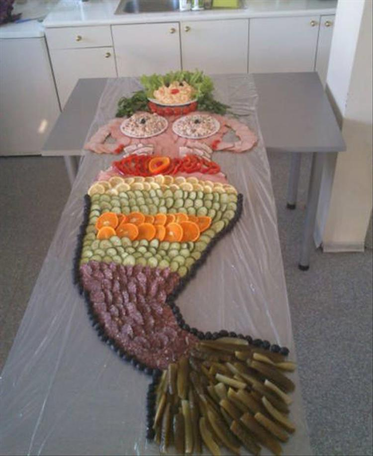 delicous mermaid